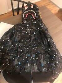 Galaxy Bape Jacket Size M