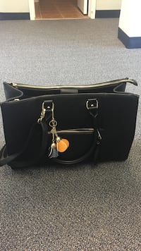 Mossimo Black Leather Purse