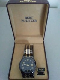 Bert Pulitzer watch black/gold  Oak Grove, 42262