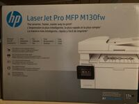 HP all in one printer MFP M130fw. Brand new . Box packed  Mississauga, L5M