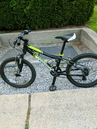 black and yellow hardtail mountain bike Port Coquitlam, V3C 4R5