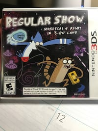 Nintendo 3 Ds regular show game  Miramar, 33027