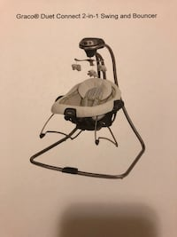 Graco Duet Connect 2 in 1 swing and bouncer