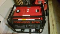 red and black Predator 4000 portable generator Gulf Breeze, 32563