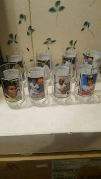 1993 mc Donald MLB hall of famers glass cups  Jessup, 20794