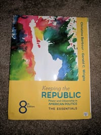 Keeping the republic - barbour, wright  Sumner, 98390