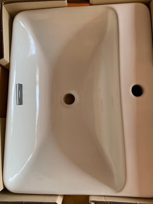 Kholer Vox Bathroom Sink BNIB 3