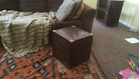 Antique wood table and trunk Stafford, 22554