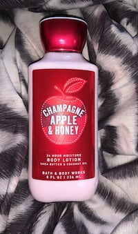 Champagne apple & honey bath and body works