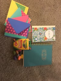 Brand new quality Notebook, tranquility Coloring book, Rock Crayona, & note card Alexandria, 22306