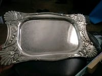 Silver plated on Iron platter Bullhead City, 86442