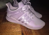 pair of white Adidas low-top sneakers Mississauga, L5M 5H2