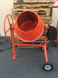 Cement mixer 9cuft electric 1 3/8HP engine great buy this are new in box  Burbank, 91501