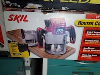 Skil router cordless power tool box
