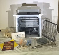 Ronco Showtime Rotisserie BBQ Countertop Cooker COMPLETE!