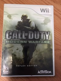 Call Of Duty Modern Warfare - Wii Barrie, L4M 3N4