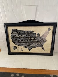 41 1/2 x 29 US map picture