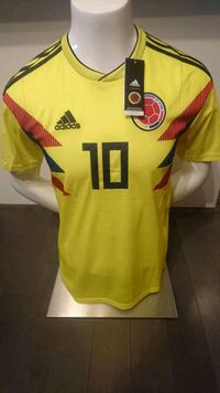 COLOMBIA HOME JERSEY   BRAND NEW WITH TAGS  Mississauga, L5B 4M9