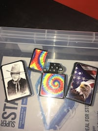 3 cool designed flip lighters - never been used  Louisville, 40258