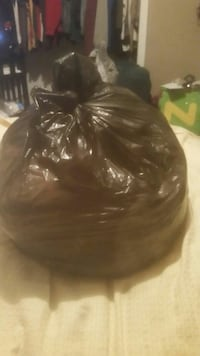 Large bag of women's clothes