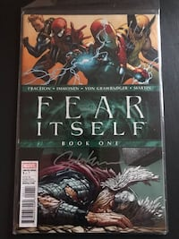 Fear itself  Singed Stuart lmmonen  Hamilton, L8W 3E7