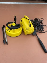 Small karcher  pressure washer With surface cleaner Palm Coast