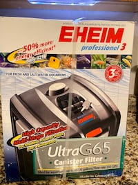 Eheim professional 3 g65 canister filter
