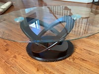 Glass & Wood Coffee Table Gainesville