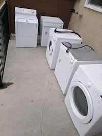 Tested and working washers and dryers