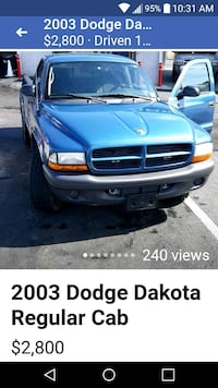 Dodge - Dakota - 2003 Baltimore, 21201