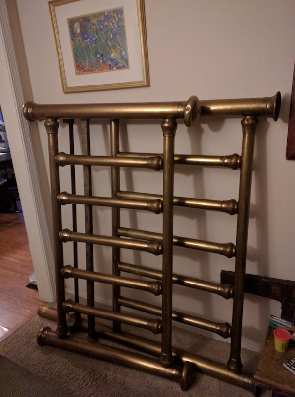 Used Antique 34 Size Brass Bed For Sale In Siloam Springs Letgo