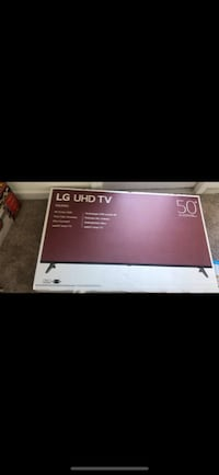 50' LG tv for sell brand new in box. Box has never been opened. $300 WASHINGTON