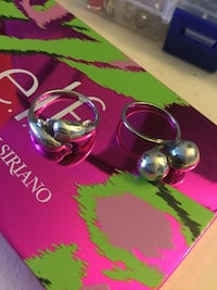 Sterling Silver Dolphin ring and dolphin earrings  / More silver jewelry come visit . Alexandria, 22311