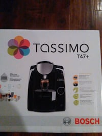 New in box tassimo single cup cappuccino  Abbotsford, V2T 2N1