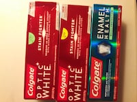 two Colgate Optic White boxes Manassas