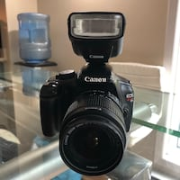Canon EOS Rebel T3 DSLR with 18-55mm IS II with speedlite 270ex Montréal, H1Z 4L1