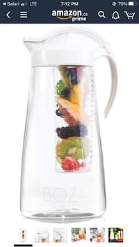 Brand new Boz water infuser for tea and fruit  Essa, L0M 1B5