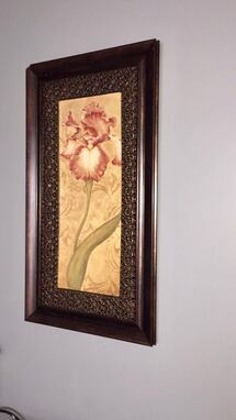 Beautiful Unique Painting Flower Art Wall Decor Frame