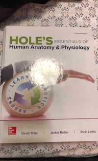Human anatomy & physiology book  Mississauga, L4Y