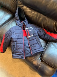 Winter jacket boys size 8 63 km