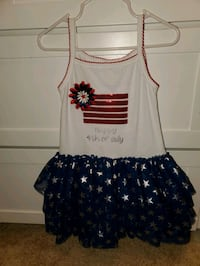 Toddler happy 4th of July dress 3T Jacksonville