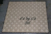 white and gray floral area rug 516 mi