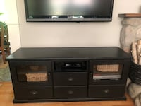 Solid TV stand from Knock on Wood Surrey, V4A 7R5