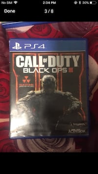 Call of Duty Black Ops 3 PS4 game case Mississauga, L4T 1Y3