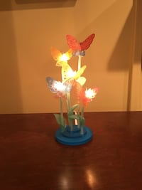 blue and white floral table lamp West Des Moines, 50265