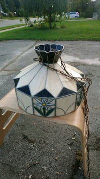 Arts and Crafts Movement  Stained Glass  Lamp