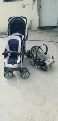 Double stroller with free car seat  Rio Grande City, 78582