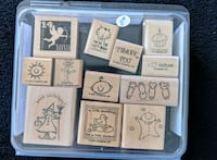 Miscellaneous stamps from Stampin' Up New Westminster, V3L 5T1