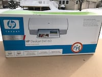 HP DESKJET D4160  inkjet Printer comes with box works fine rarely used Glenn Dale