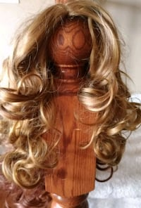 Blonde Curly Wig